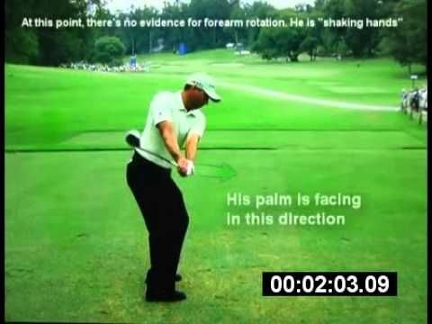 How your right arm can get you off plane in your golf swing