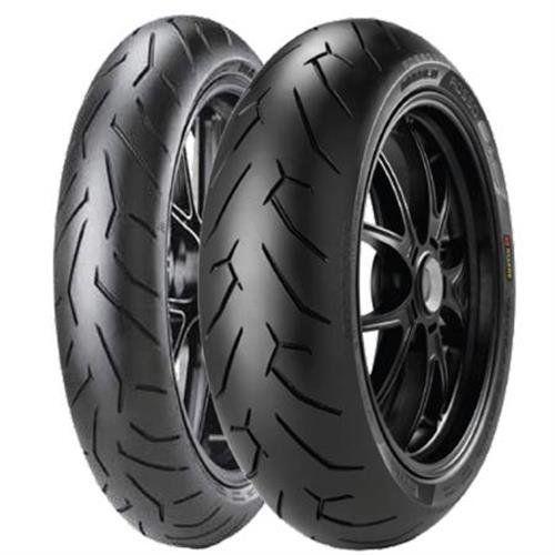 Pirelli Diablo Rosse Ii Tire Front 120 70zr 17 D Spec Position Front Rim Size 17 Tire Application Sport Tire Size Motorcycle Tires Pirelli Tire