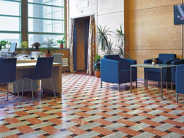 Love the chairs** Public Buildings | Office | Sustainable Flooring Solutions  from Nora