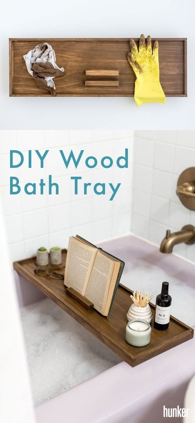 Photo of Live Your Best Oprah With This DIY Wood Bath Tray | Hunker