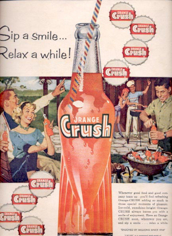 1959   Orange Crush   ad (5563) is part of Vintage ads - 2