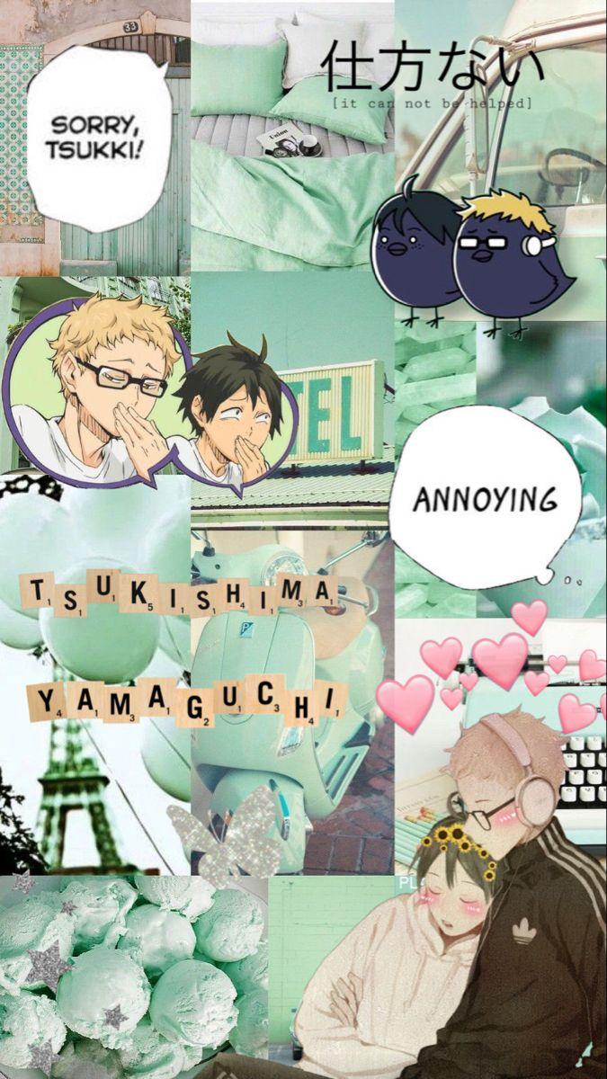 Yams and Tsuki wallpaper