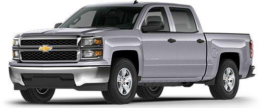 2014 Chevrolet Silverado 1500 Fuel Efficient Pickup Truck