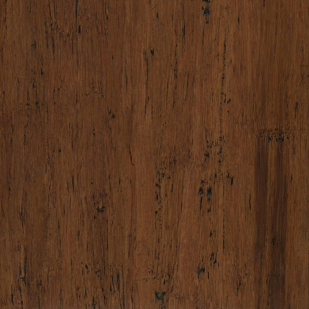 Home Legend Hand Scraped Strand Woven Almond 1 2 In X 7 48 In X 72 835 In Engineered Click Bamboo Flooring 30 268 Sq Ft Case Brown Engineered Bamboo Flooring Flooring Birch Floors