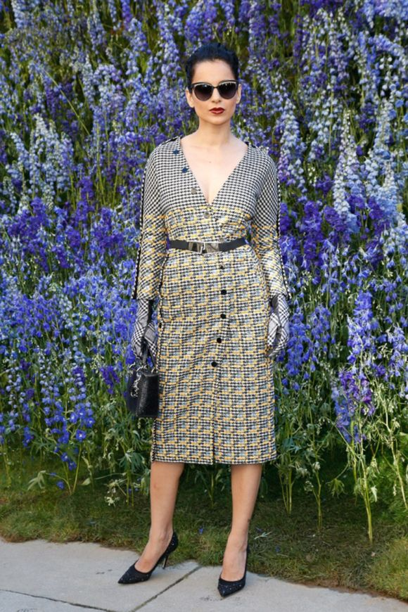 Front Row: Christian Dior Spring 2016 RTW - Fashion Style Mag