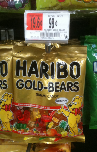 Haribo Gummy Bears Only 68 At Walmart With New Printable Coupon Haribo Gummy Bears Gummy Bears Haribo