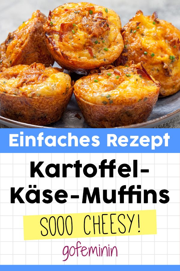 Kartoffel-Käse-Muffins: Sooo lecker!