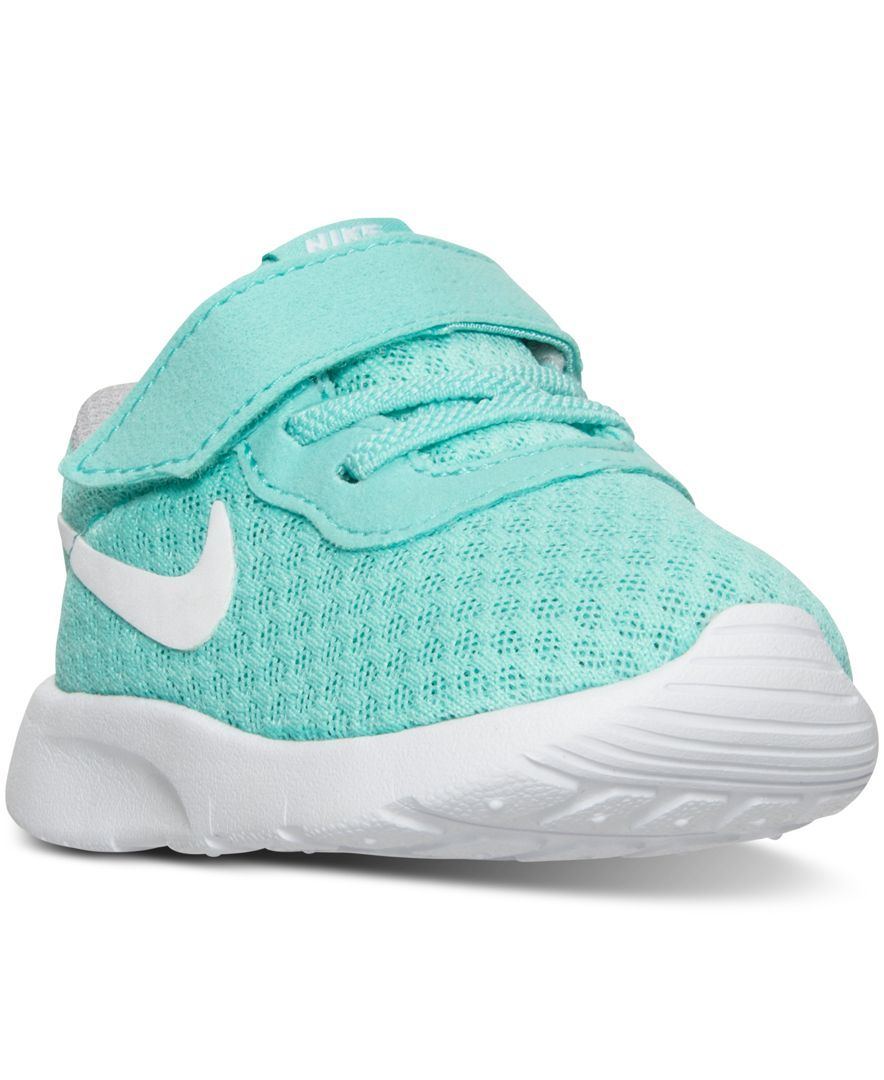 5a5e8ae79c873 ... Nike Toddler Girls  Tanjun Casual Velcro® Sneakers from Finish Line - Finish  Line Athletic