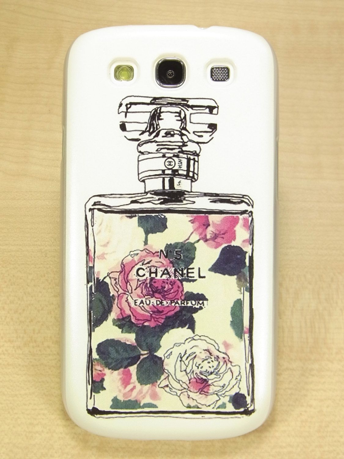 Samsung galaxy s3 case Perfume Hard Chanel Inspired