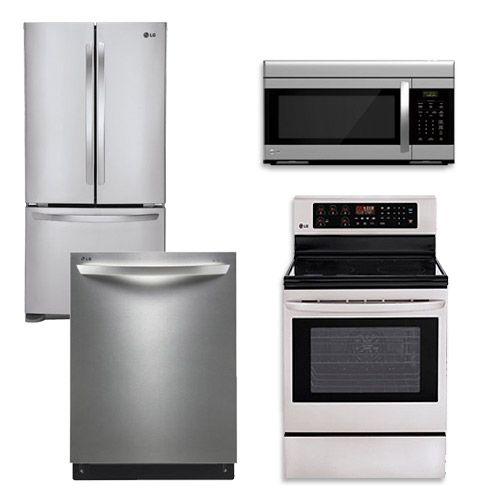 Package 10 Ge Appliance Package 4 Piece Appliance Package With