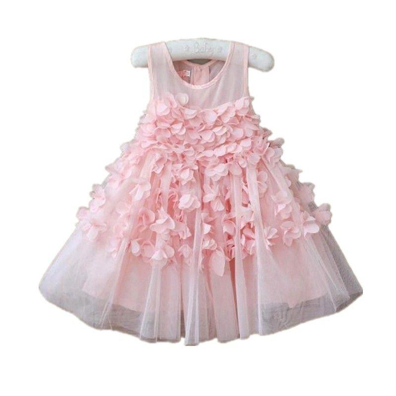 bcb96996be87 Crianças meninas vestido de princesa crianças vestido infantil com ...