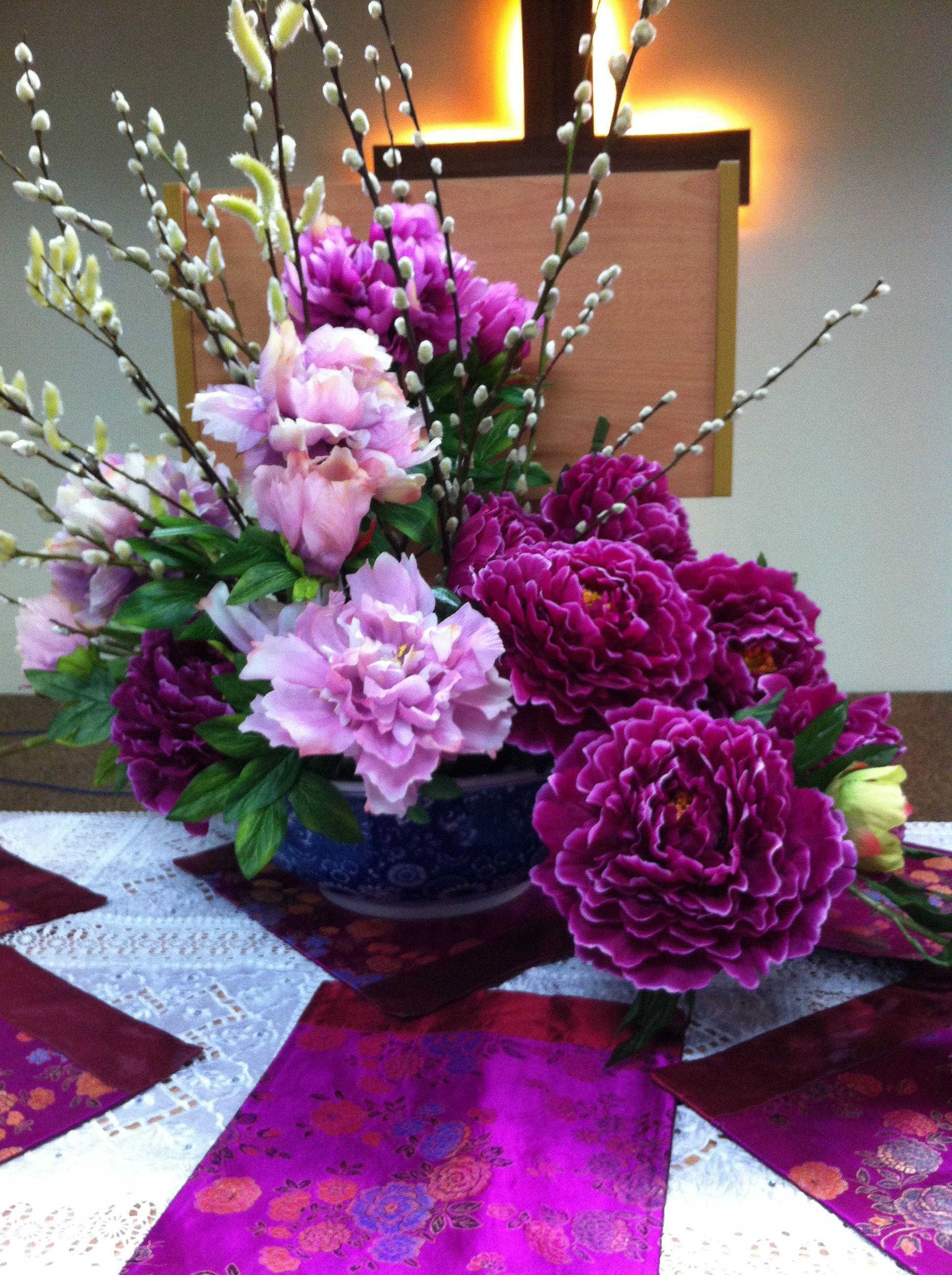 Chinese New Year arrangement Bakman Floral Design is a