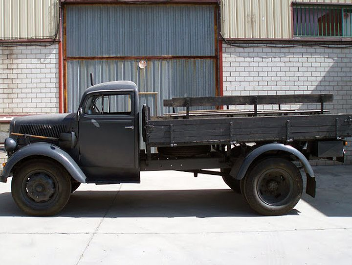1940 Opel Blitz German Army Truck German Trucks Trucks
