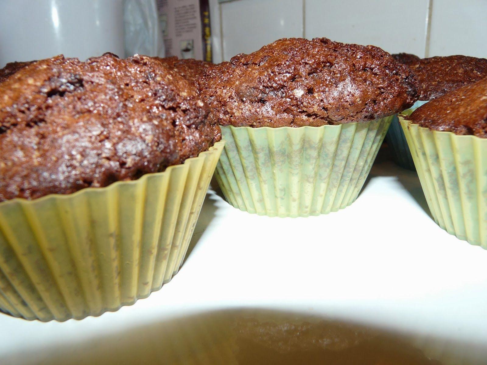 Recettes d'une mère de famille nombreuse: Muffins au chocolat