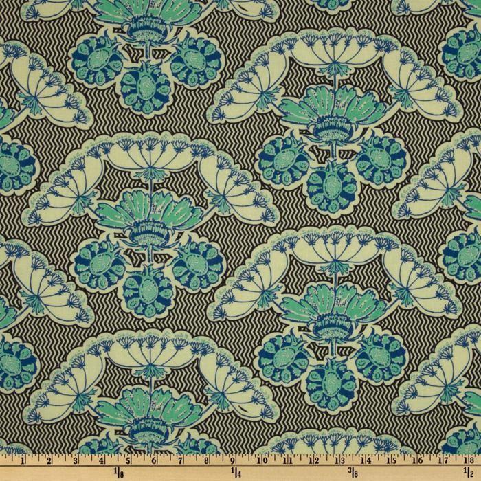 Anna Maria Horner Home Decor Fabric | Anna Maria Horner Field Study Specimen Struck Charcoal Discount