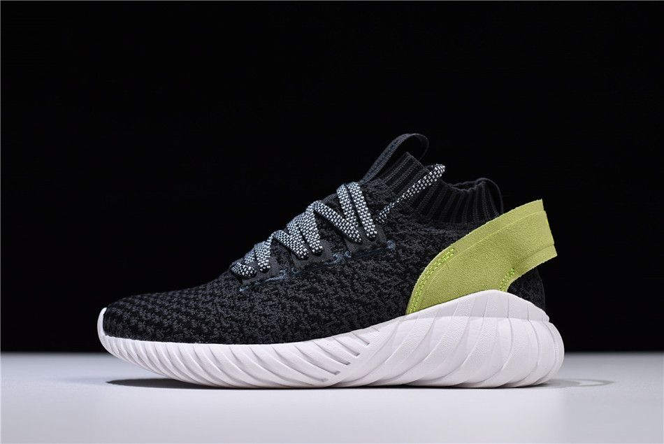 2018 Women Adidas Originals Tubular Doom Sock Primeknit Carbon