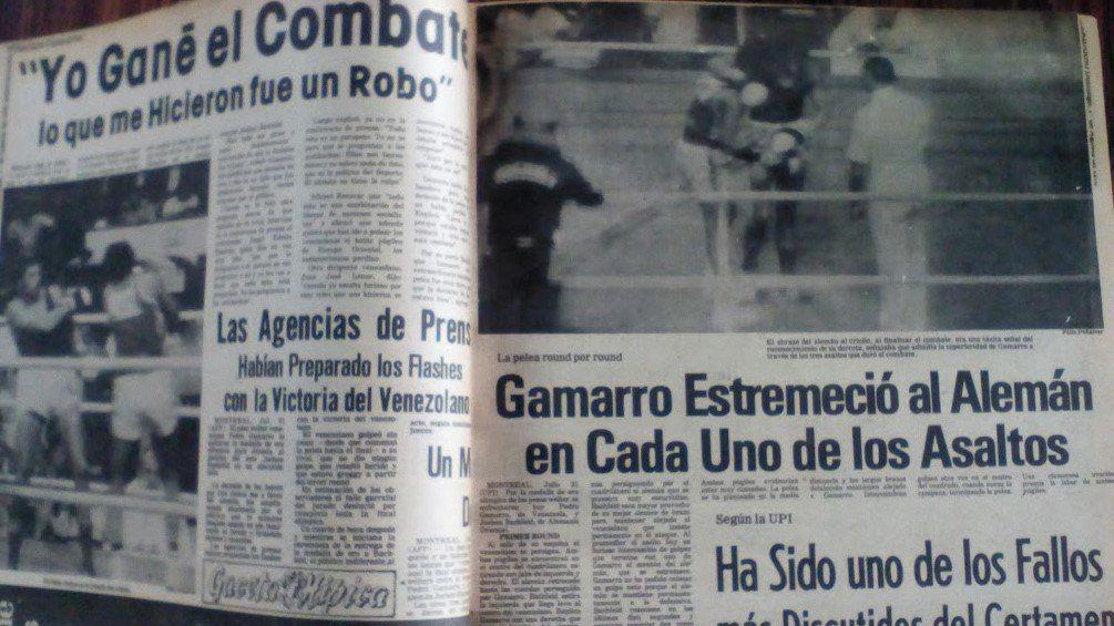 PEDRO GAMARRO ESTREMECIÓ AL ALEMÁN EN CADA UNO DE LOS ASALTOS, tituló en las páginas interiores el diario deportivo Meridiano en julio del año 1976 …   Event ticket
