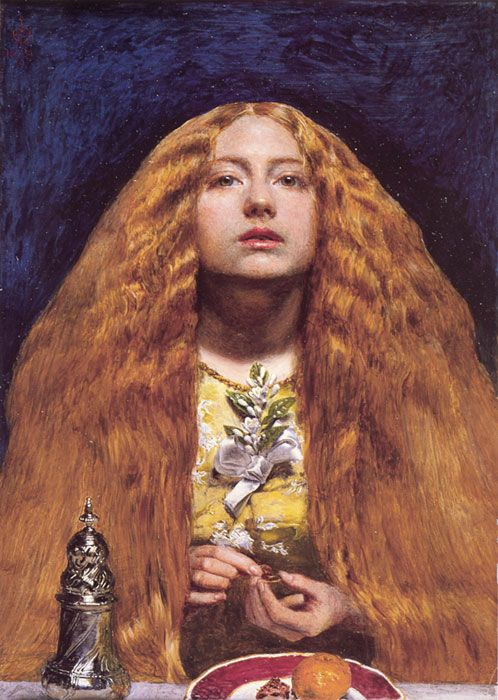 Painting by Millais- The Bridesmaid | Pre raphaelite paintings ...