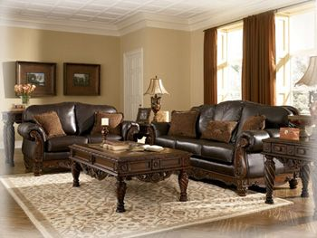 North Shore Dark Brown by Ashley Furniture HomeStore httpwww