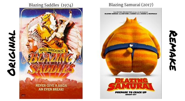 All movie remakes