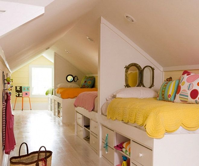 Clever Bed Ideas: 13 Clever Ways To Fit Three Kids In One Bedroom