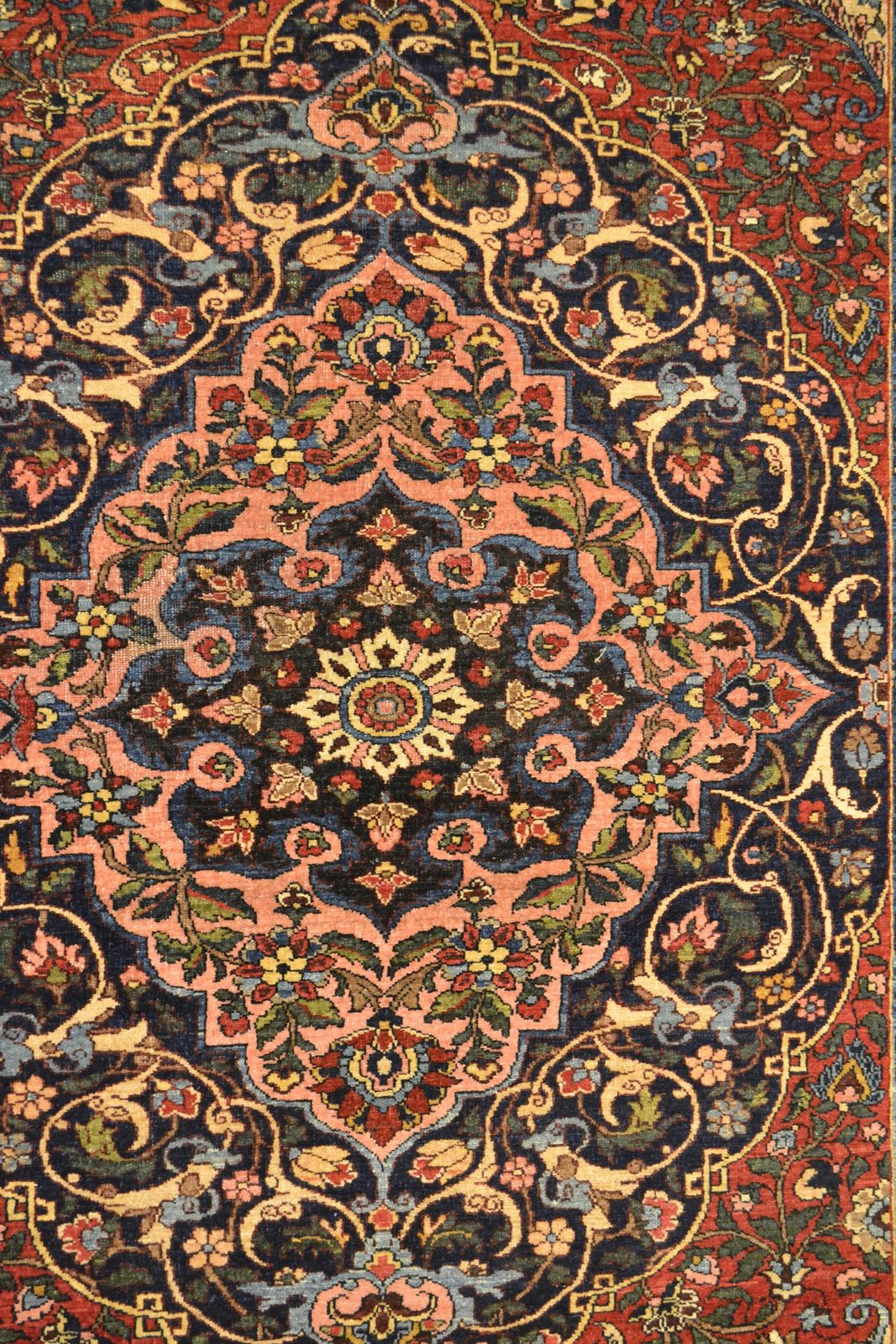 Antique Isfahan Mobarakeh Wool Persian Rug Item Bg 3115 Persian Rug Designs Persian Rug Rugs
