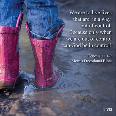 NIV Bible verse about giving God control. Genesis 11:1-9 ...