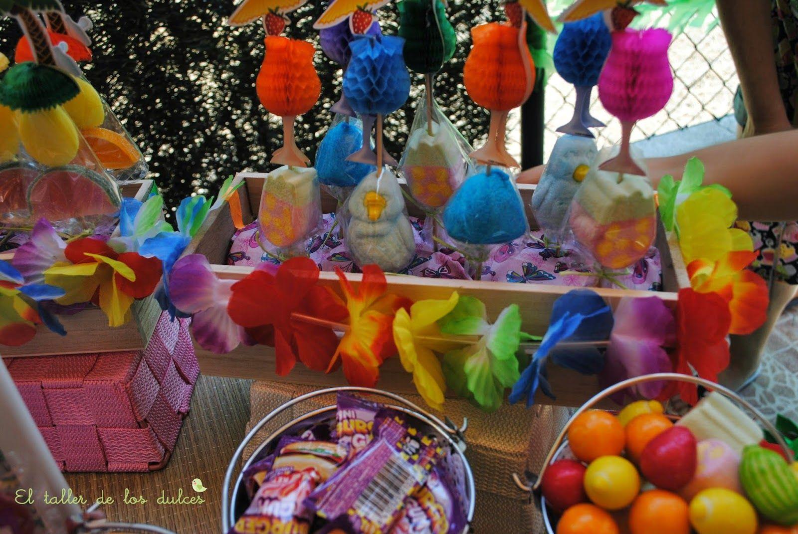 Copas tropicales ideas para fiestas motivo piscina y for Ideas decoracion fiesta