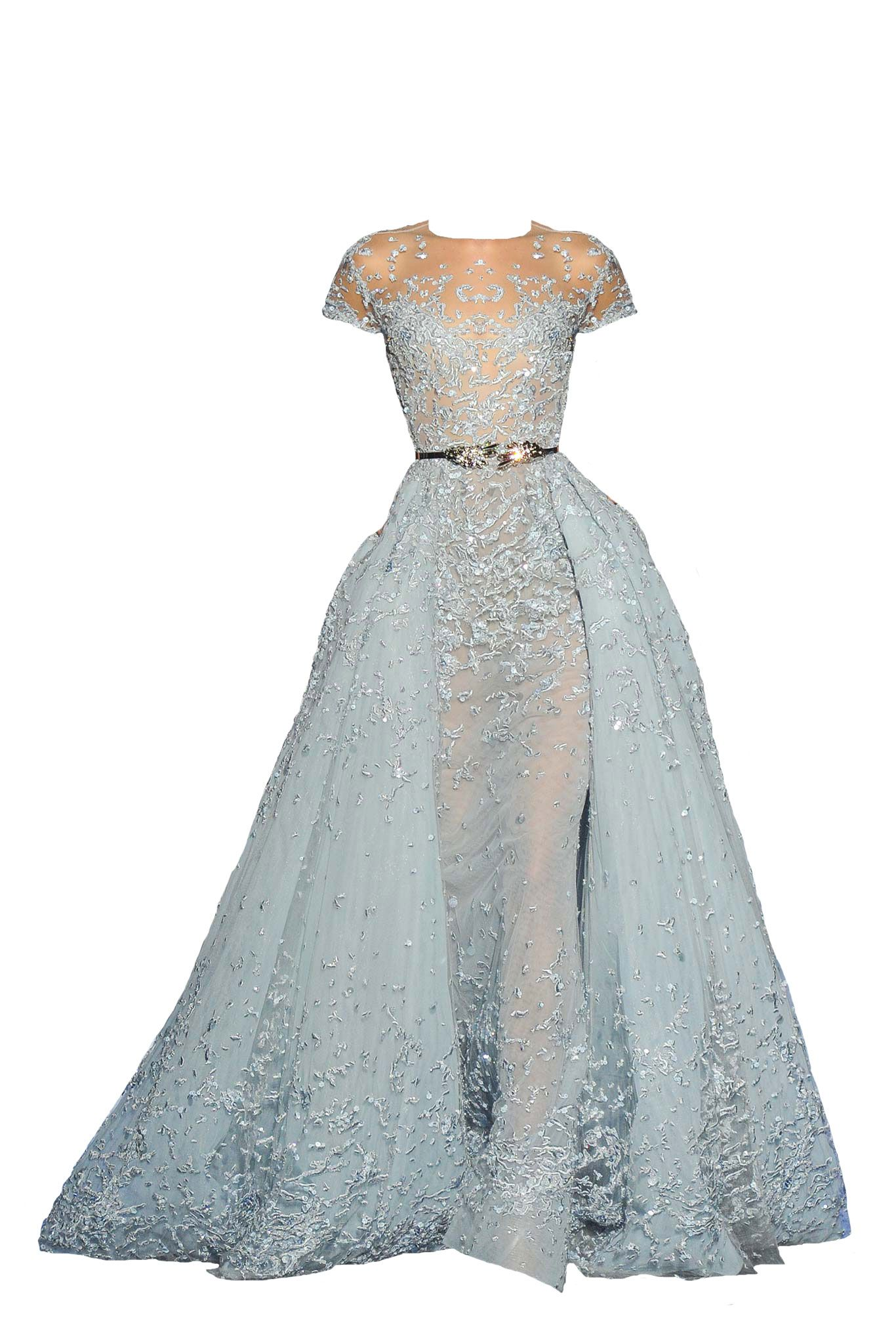 Polyvore Moodboard Filler Gown Dress Blue Orange Fancy Dresses Event Dresses Gorgeous Dresses