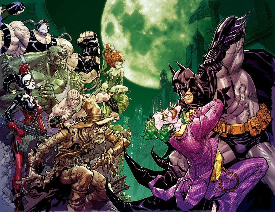 Batman: Arkham Asylum Characters | Batman arkham city, Batman ...