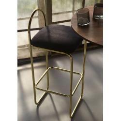 Photo of Aytm Angui bar stool high (seat height 75.5cm) anthracite Aytmaytm
