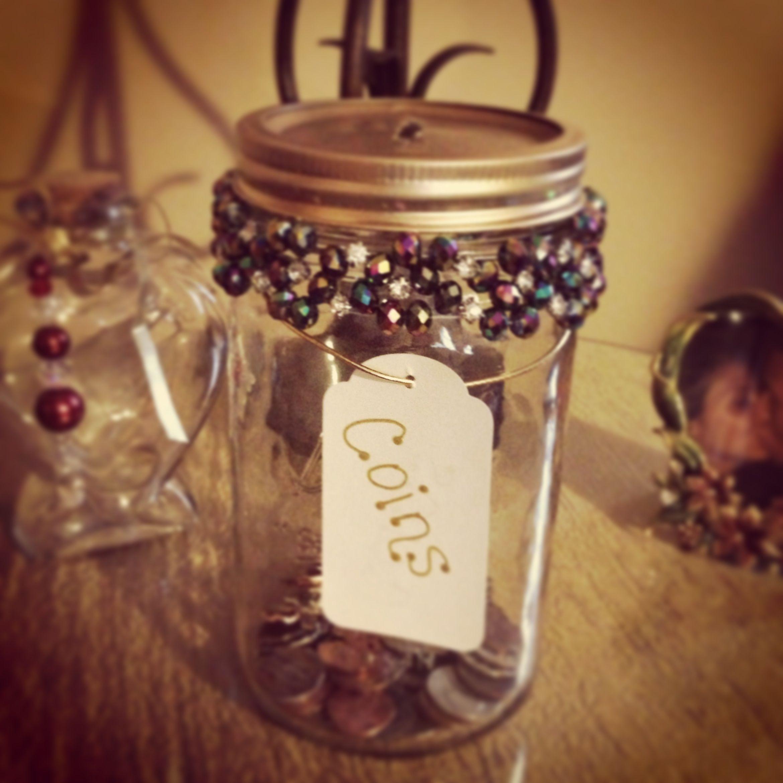 Diy coin jar
