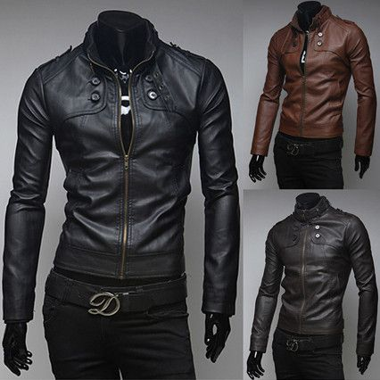 1000  images about Men Leather Jacket Collection on Pinterest
