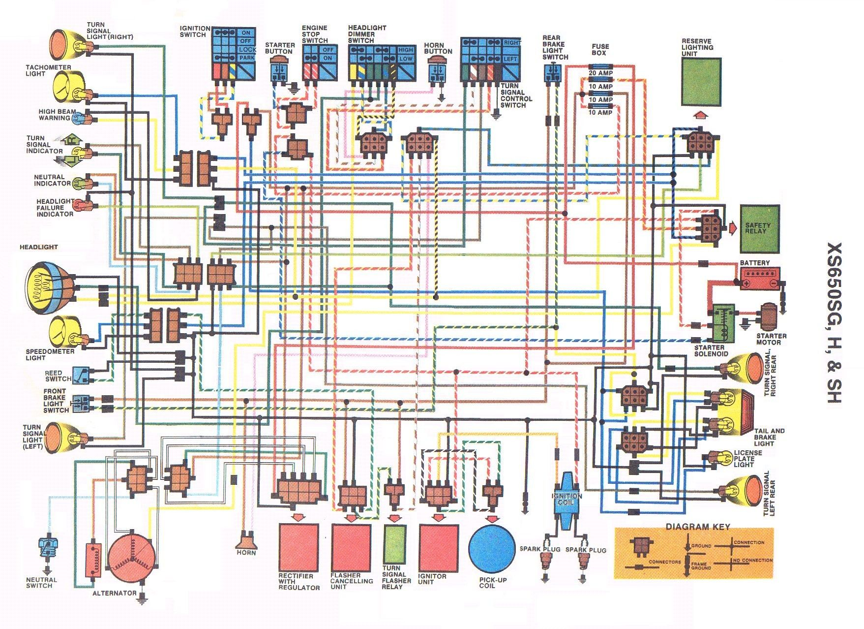 Lovely Wiring Diagram Xs650  Diagrams  Digramssample