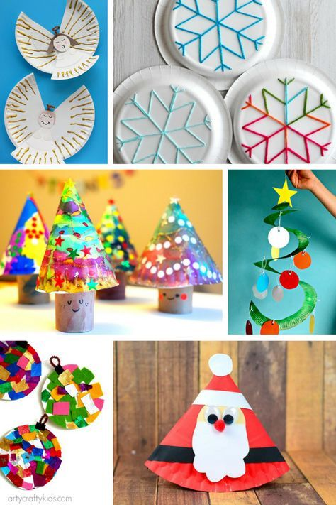 Arty Crafty Kids | Christmas | 18 Fabulous Paper Plate Christmas Crafts for Kids!  sc 1 st  Pinterest & Fabulous Paper Plate Christmas Crafts | Crafty kids Crafty and Craft
