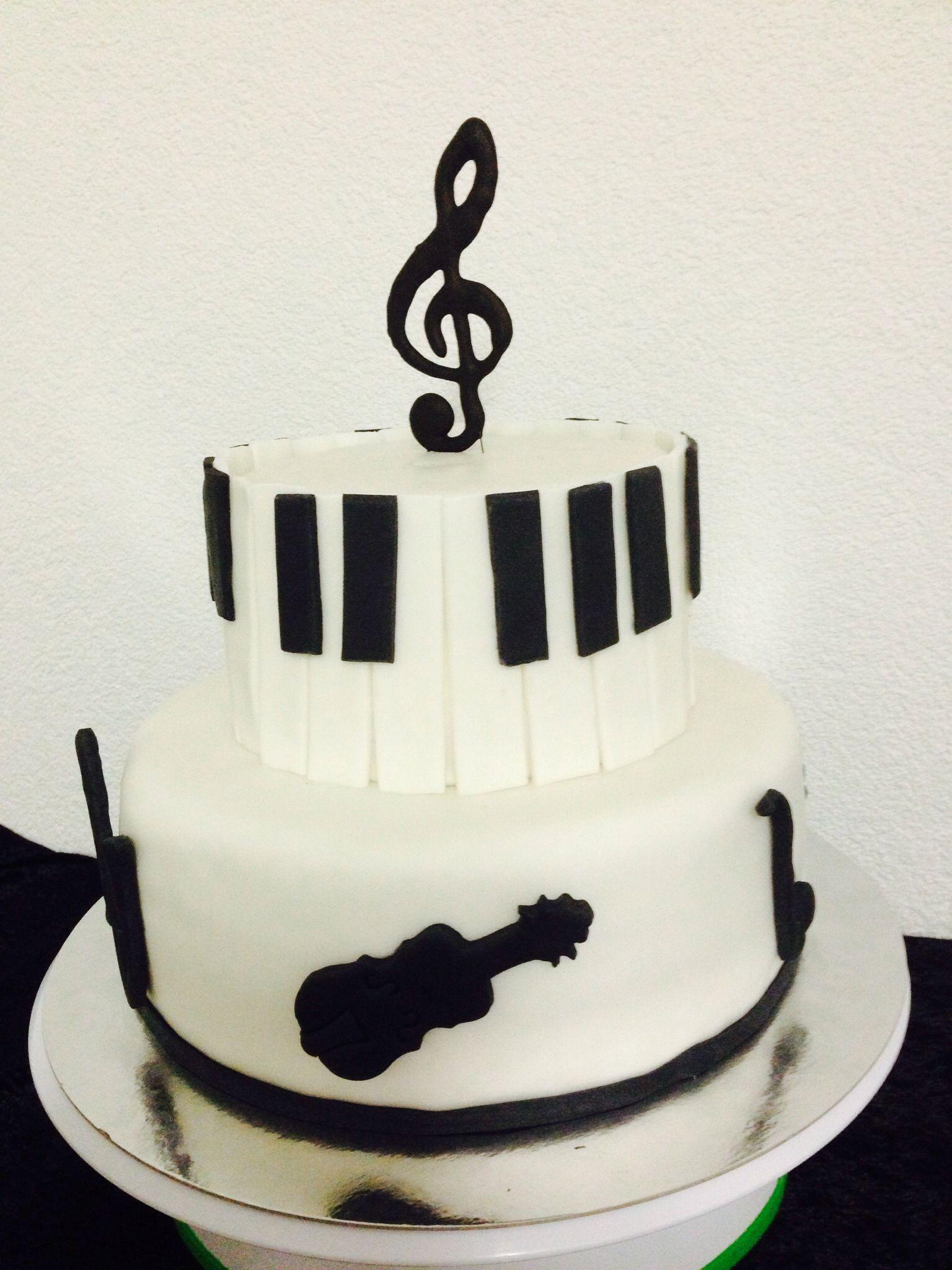 Musik cake / Musik Torte