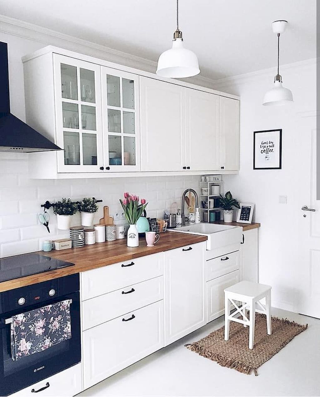 The Best Of Little Apartment Kitchen Decor Small