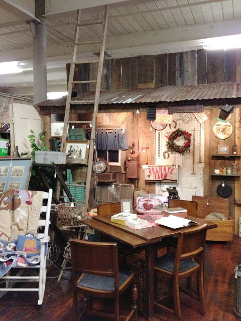 My Junking Trip To Monroe Ga Cherry Hill At The Mill Southern Revivals Barn Kitchen Booth Decor Tin Walls