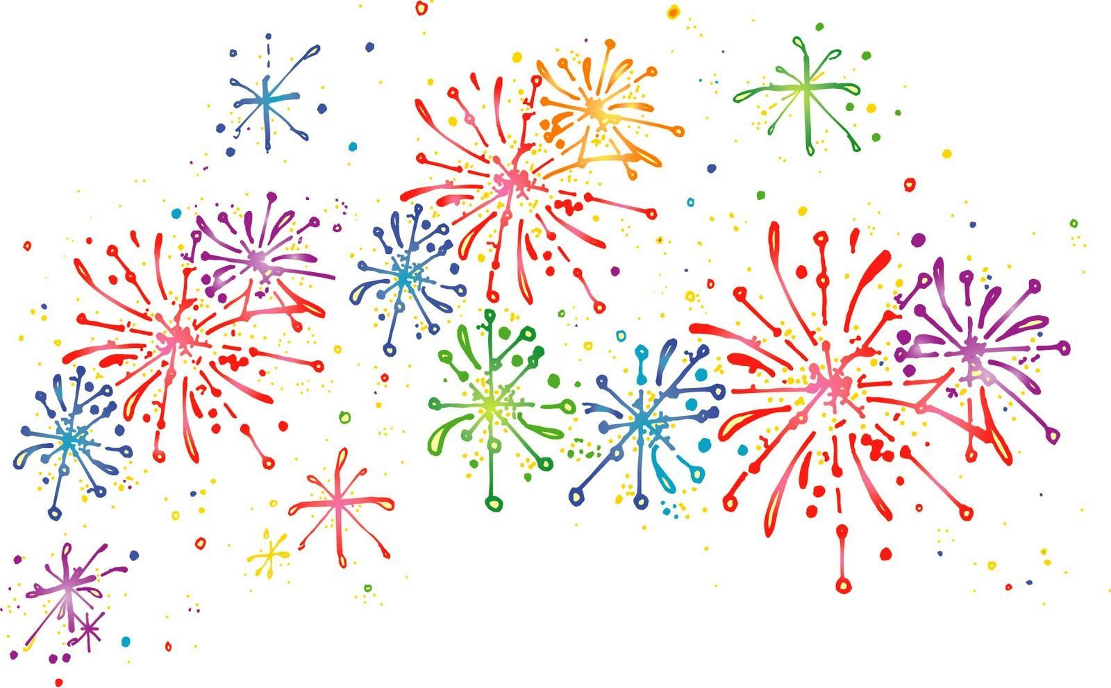 small resolution of fireworks clipart free