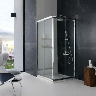 Box doccia giada 70x70 cristallo trasparente 6 mm Box