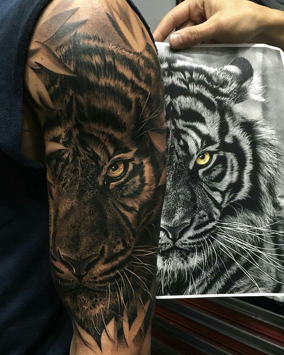 Pin By Joe Corniuk On Tattoo Tiger Tattoo Sleeve Tiger Tattoo
