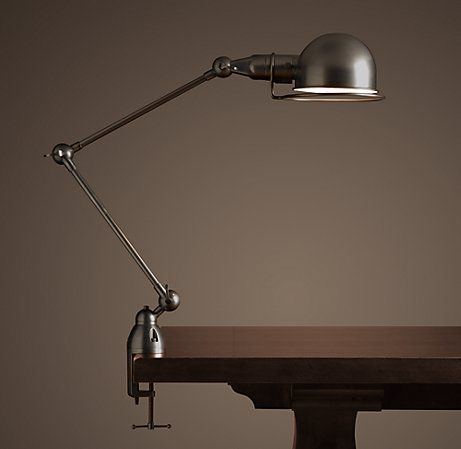 Atelier clamp task lamp from Restoration Hardware...for my ...