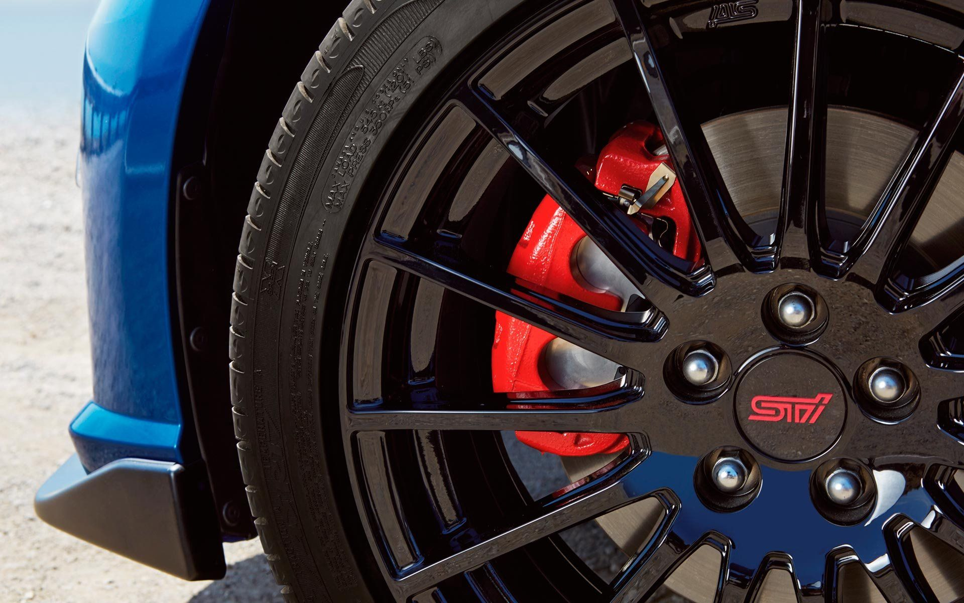 2015 Subaru Brz Red Painted Brake Calipers Wallpaper Want To