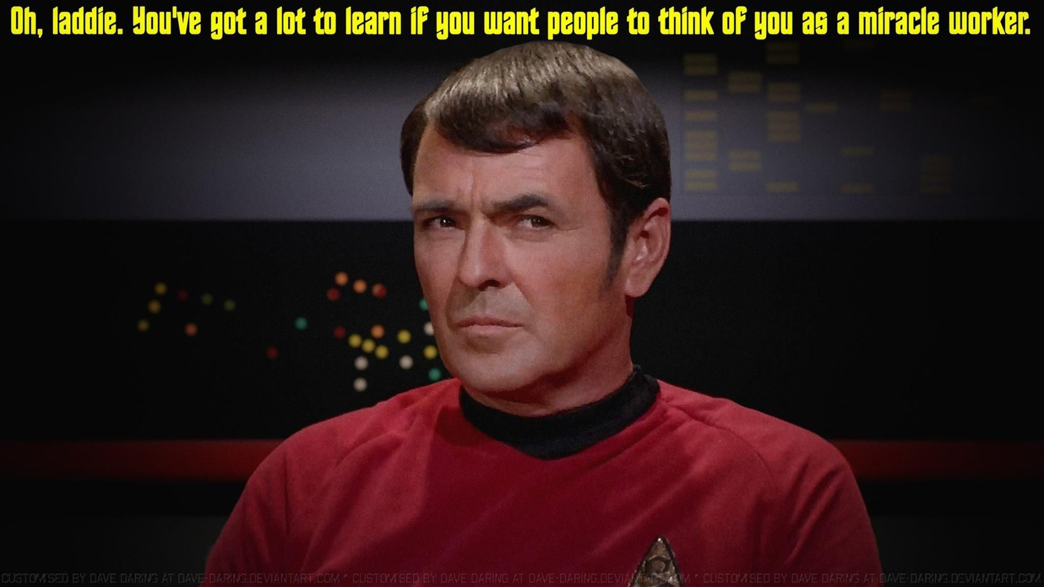 Star Trek Scotty Quote