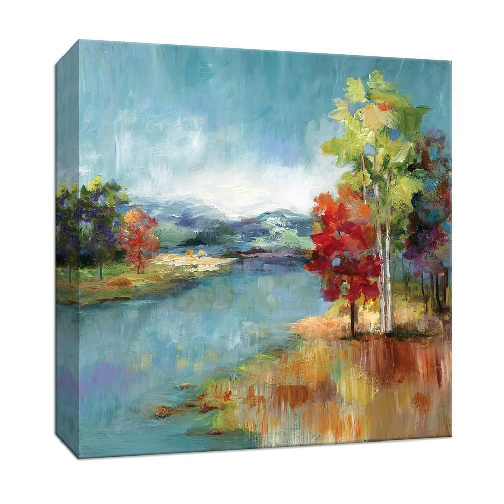 PTM Images 15 in. x 15 in. ''High Meadow'' Canvas Wall Art 9-165292 - The Home Depot