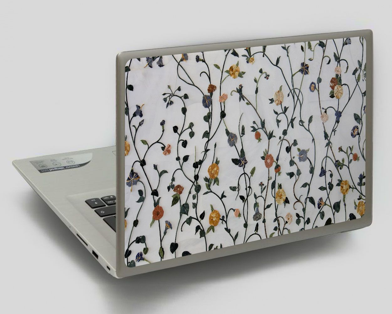 Wildflowers Print Laptop Flower Decal Universal Laptop Skin Chromebook 11 Cover Hp Pavilion 14 Inch Dell Xps 15 Skin Lenovo Dec Chromebook 11 Chromebook Laptop