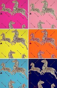 Scalamandre Wallpaper and Fabric   Fabric wallpaper, Zebra ...