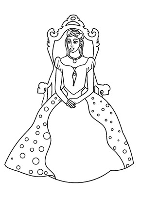 Ausmalbild Prinzessin Auf Dem Tron Princess Coloring Pages Princess Coloring Aurora Sleeping Beauty