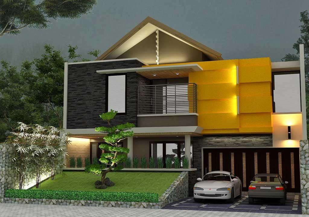 Model Garasi Dan Carport Mobil Rumah Mewah