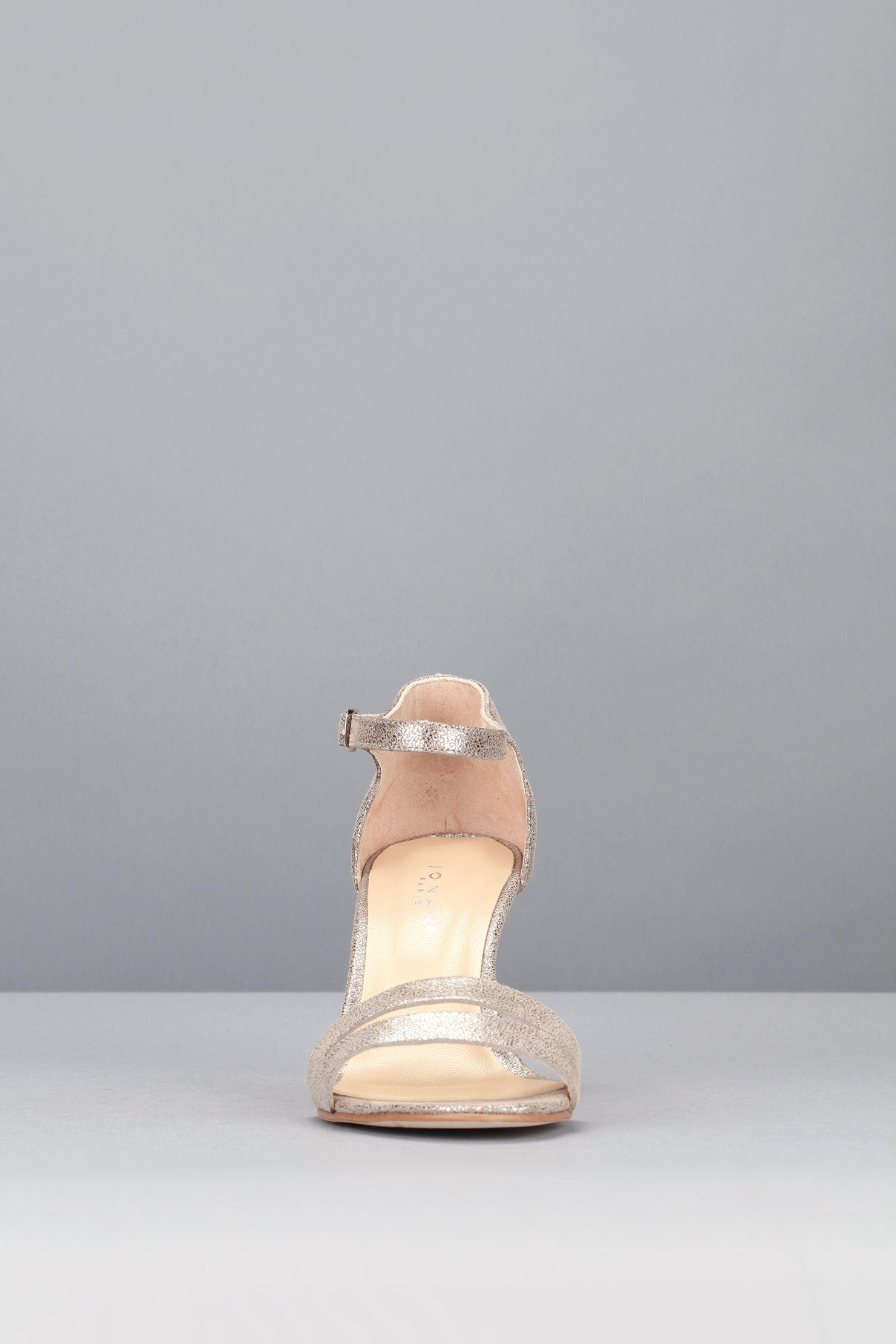 89 Sandale - 264-dream croute laminee - Weiß / Naturfarben